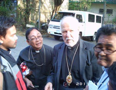 Визит архиепископа на Филиппины