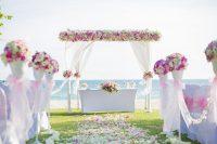 Свадьба на белоснежном пляже
